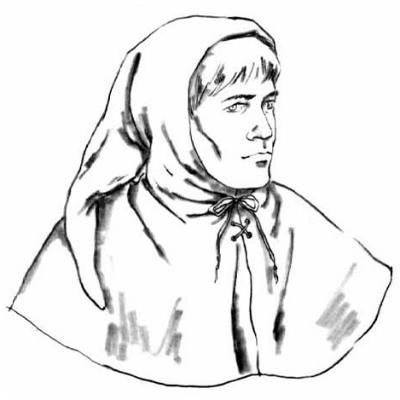The most typical medieval hat was probably the hood with a tail--it was  worn by both men and women. 2438f0ee06e